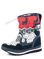 Дутики YWZ17474 red-white-navy / p. 36-41 Restime/ 8пар